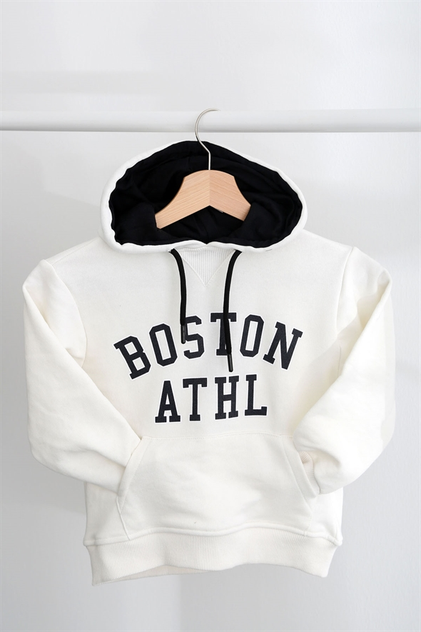 Ekru Boston Çocuk Sweatshirt