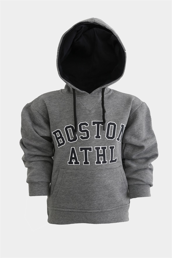 Antrasit Boston Çocuk Sweatshirt