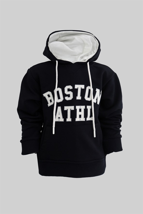 Lacivert Boston Çocuk Sweatshirt